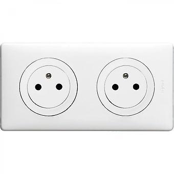 Celiane Double Outlet Socket