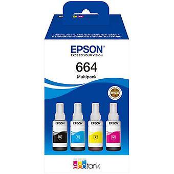 Kompatibel blekkpatron Epson 664 flerfarget