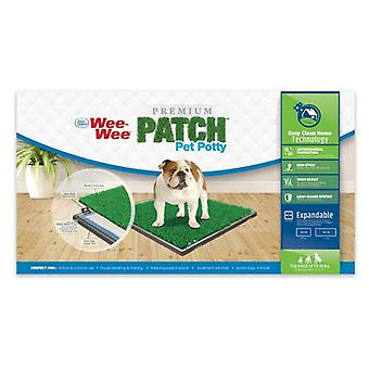 """Four Paws Wee Wee Patch Indoor Potty 24.5""""L x 25.7""""W - 1 count"""