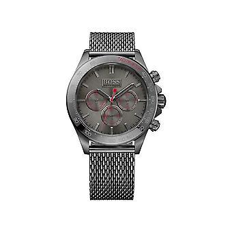 Hugo Boss Ikon Chronograph Grey Dial Herrenuhr 1513443