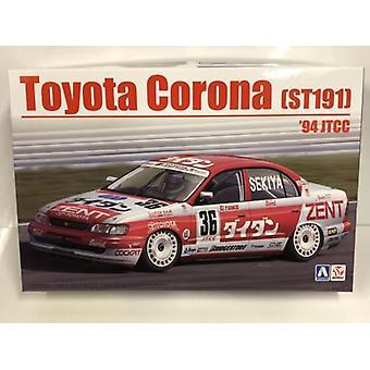 1994 Toyota Corona ST191 JTCC 1:24 Skala Model Kit Beemax 24013