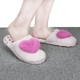 Creative Women Ladies Home Floor Slippers Indoor Girls Cotton Padded Shoes