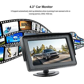 """Ywx-430a 4.3"""" Stand Security Tft Monitor Vehicle Security Car Rear-view System"""