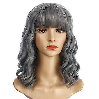 Pelucas de centro comercial de marca, pelucas de encaje, pelo largo esponjoso realista pelucas rizadas de pelo largo