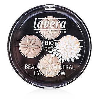 Lavera Beautiful Mineral Eyeshadow Quattro - # 02 Cappuccino Cream - 4x0.8g/0.026oz