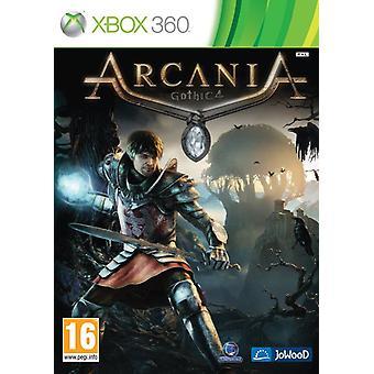 Arcania Gothic 4 Xbox 360 jogo