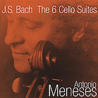 Antonio Meneses - Bach: The 6 Cello Suites [CD] USA import