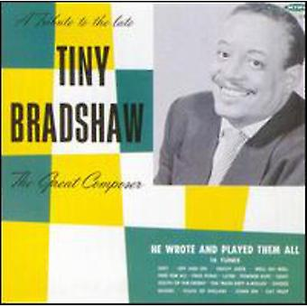Tiny Bradshaw - grote componist [CD] USA importeren