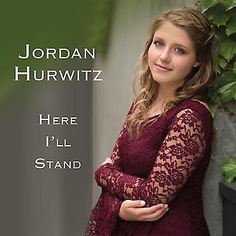 Jordan Hurwitz - Here I'Ll Stand [CD] USA import