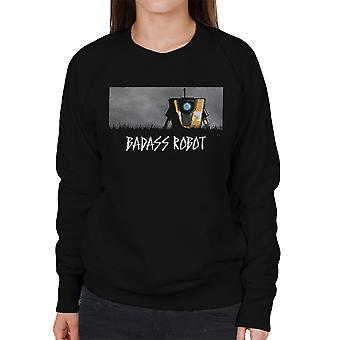 Badass Robot Borderlands Women's Sweatshirt