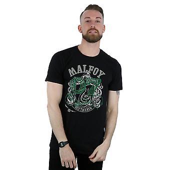 हैरी पॉटर पुरुषों की ड्रेको Malfoy साधक टी शर्ट