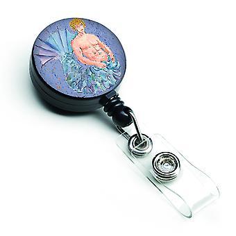 Carolines schatten 8347BR Meerman intrekbare Badge Reel