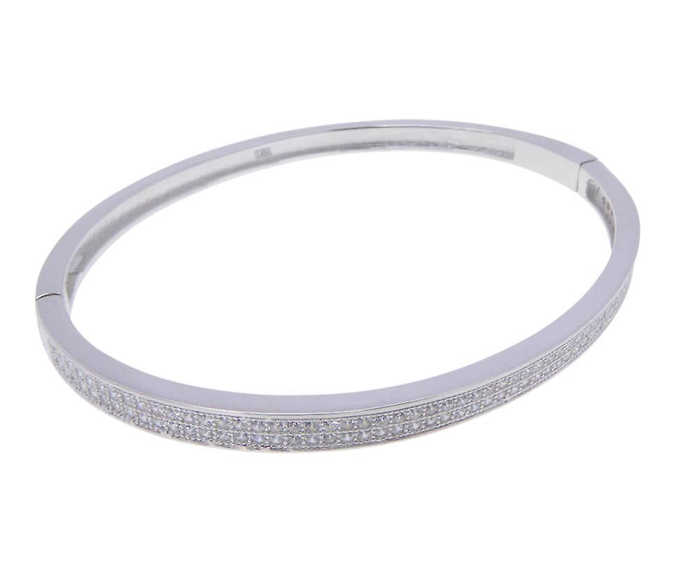 Christian zilveren zirkonia armband