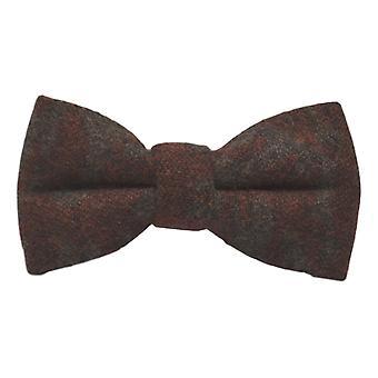Lusso persiano reticolo ambra scuro Bow Tie