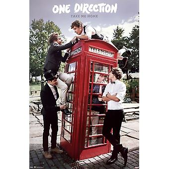 One Direction - Take Me Home Poster Print