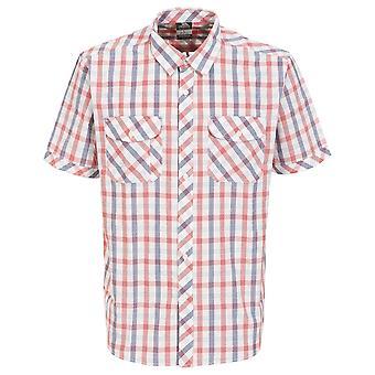 Trespass Mens Hopedale Short Sleeve Check Shirt