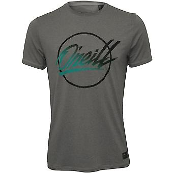 O'Neill Re-Issue UPF50+ Performance T-Shirt, Silver Melee