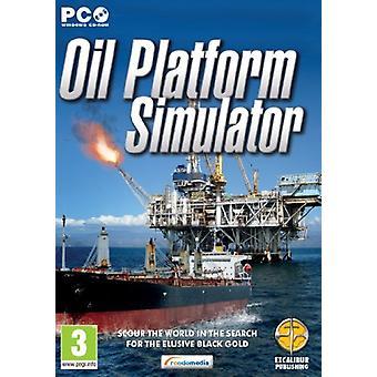 Oil Platform Simulator (PC CD) - Wie neu