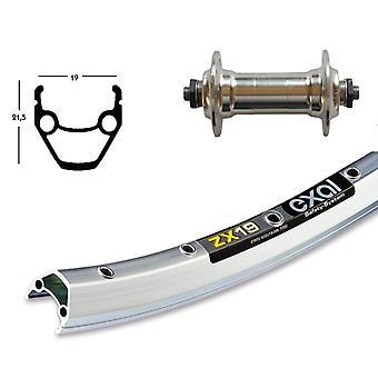 Bike parts 26″ wheel Exal ZX 19 + standard aluminium hub (QR)