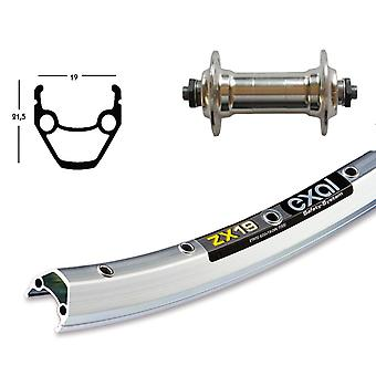 Sykkel deler 26 hjul Exal ZX 19 + standard aluminium-senteret (QR)