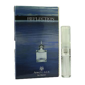 Amouage 'Reflexion' EauDeParfumSpray ForWoman .05oz kardiert Vial(VintageFormula)