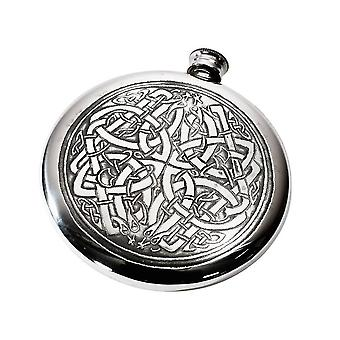 Celtic Circle tinn Sporran kolbe - 4oz