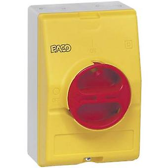 BACO BA0172361 Isolator switch 63 A 1 x 90 ° Yellow, Red 1 pc(s)
