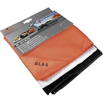 Microfibre Cloth Nigrin 71111 3 pc(s) (L x W) 40 cm x 40 cm