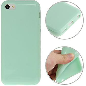Protection TPU cas pour vert eau téléphone Apple iPhone 5 C