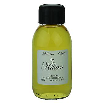 Kilian 'Amber Oud' Eau De Parfum 3.4 oz / 100 ml Refill, Brand New,Brown Box