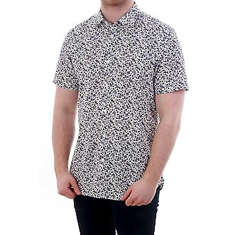 PS Paul Smith Short Sleeve Tailored Fit Floral Shirt