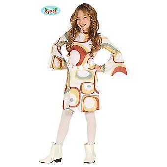 Hippi mekko puku lapsi 60s 70s flower power lapsi puku