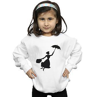 Disney jenter Mary Poppins flygende Silhouette Sweatshirt