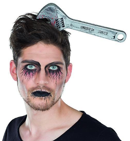 Fastnøkkel hodebånd tilbehør Halloween horror ulykke verktøyet