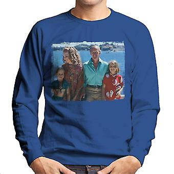 TV Times David Niven Family 1971 Men's Sweatshirt