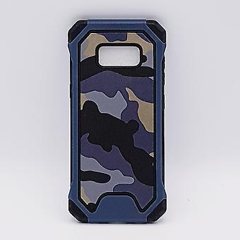 For Samsung S8 Plus case-Camouflage blue