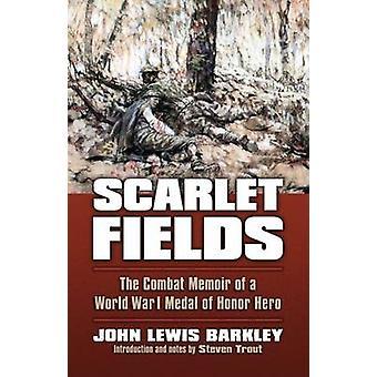 Scarlet felter - en verdenskrig bekæmpe erindringsbog medalje af ære hende