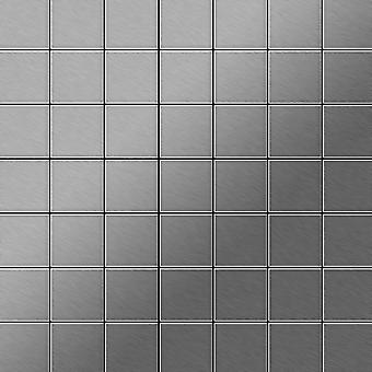Metal mosaic Stainless Steel ALLOY Attica-S-S-B