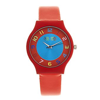 Crayo Jubilee Unisex Watch - Red