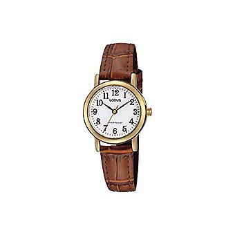 Lorus analogique quartz mens watch avec cuir RRS18VX9