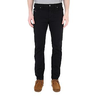 Diesel Larkee Beex Black Tapered Jeans