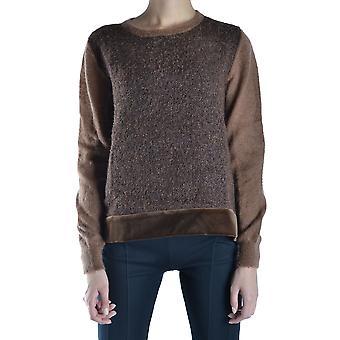 Alberta Ferretti Ezbc027006 Chemise en laine brune