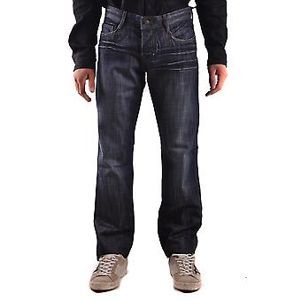 John Richmond Ezbc082057 Men's Blue Cotton Jeans