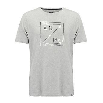 Mens animais localizar t-shirt