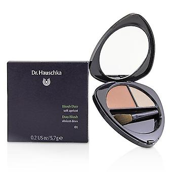 Dr. Hauschka Rouge Duo - Soft Apricot # 01 - 5.7g/0.2oz