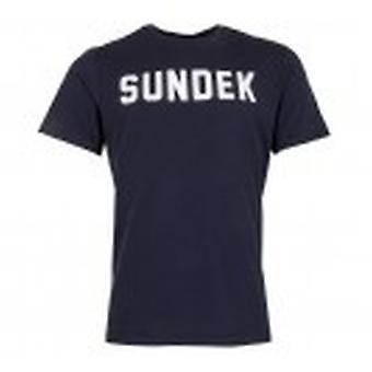 Sundek Writing sundek-M025TEJ7800 t-shirt