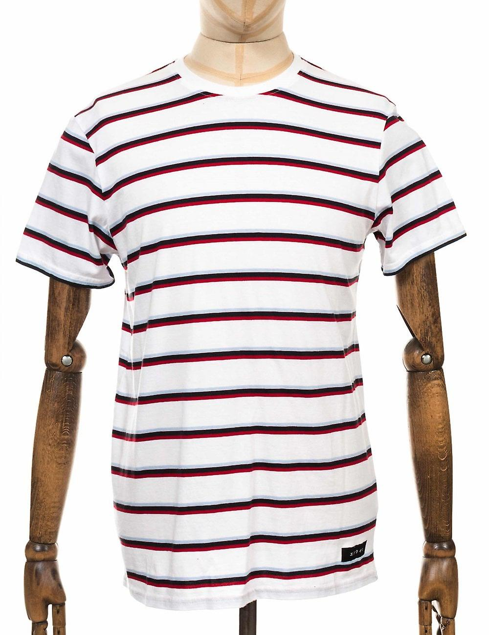Edwin Jeans West Stripe Tee - White