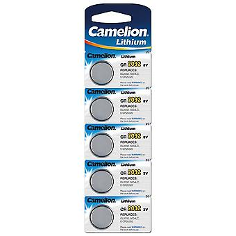 Camelion Lithium Battery CR2032 5-pack
