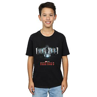 Marvel Studios Boys Iron Man 3 Poster T-Shirt