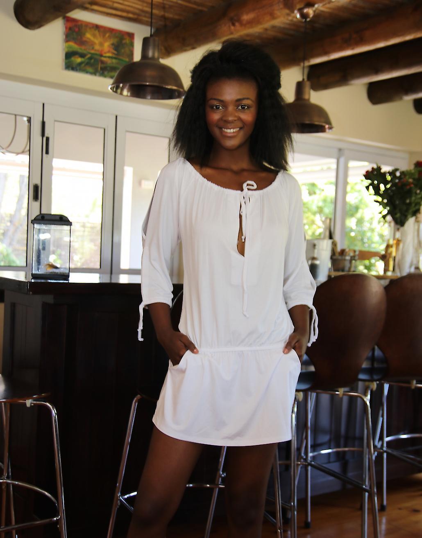 Dress Top With Split Sleeves